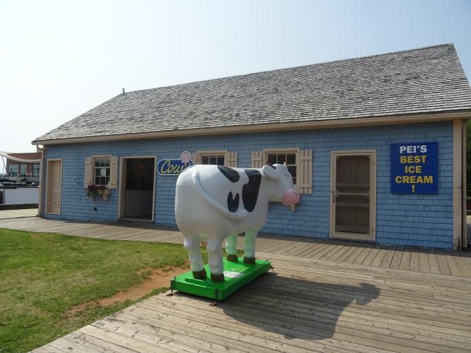 Cows glace Ile du prince edouard canada itinéraire road trip est canadien en été