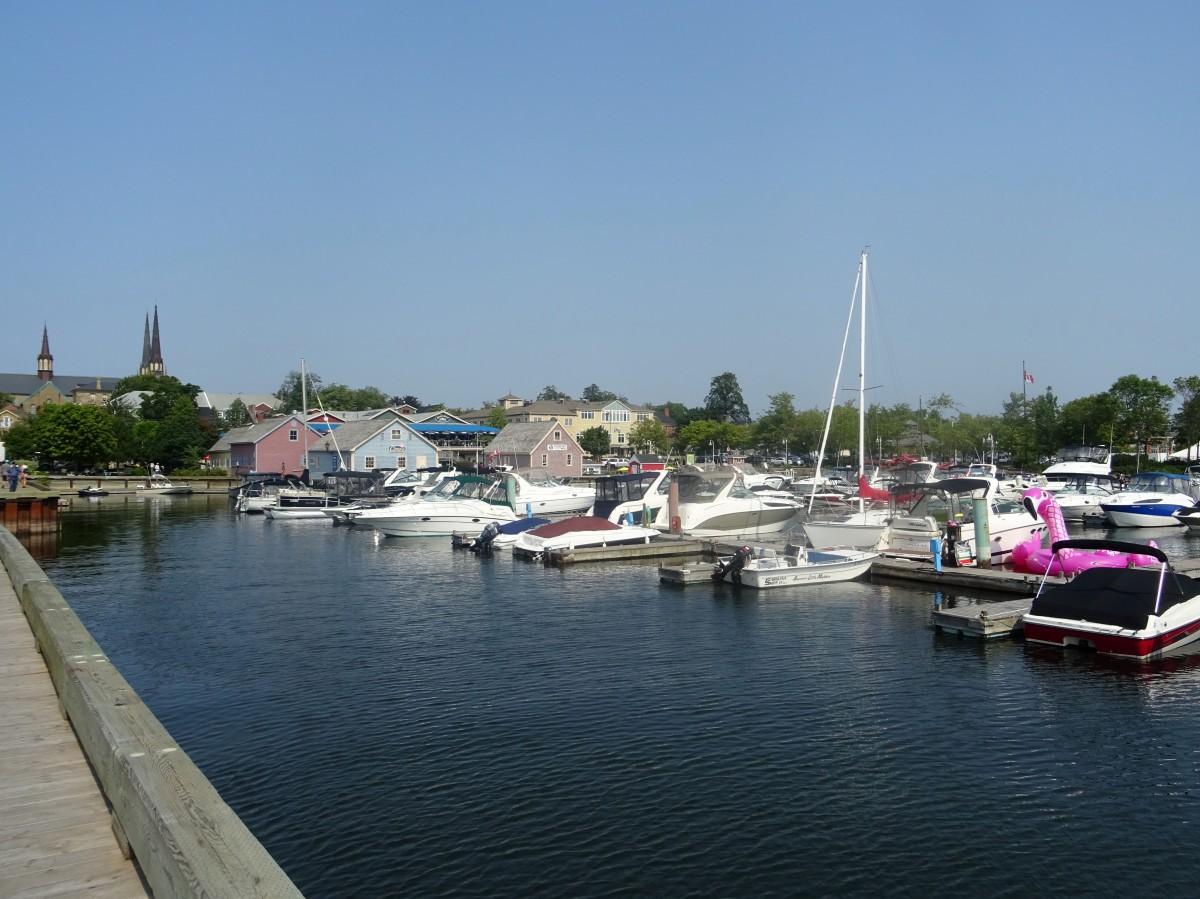 Le Port de Charlottetown Victoria park ile du prince edouard Canada road trip itinéraire est canadien en été