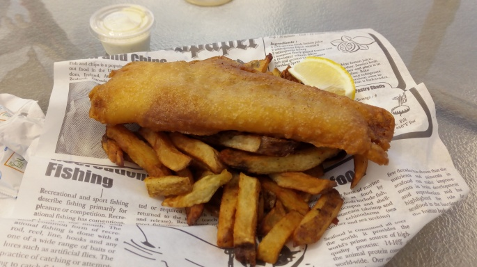 Cavensish fish & chips restaurant Ile du prince edouard itinéraire road trip est canadien