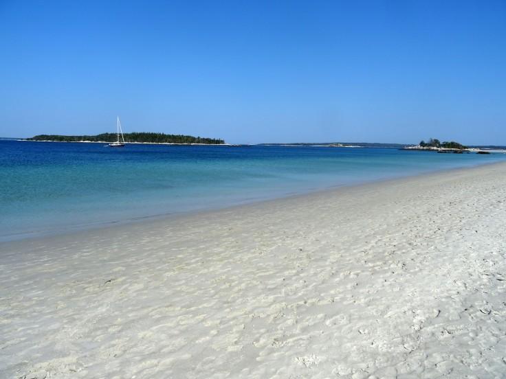 Belle plage Canada Nouvelle écosse Carters beach itinéraire road trip est canadien