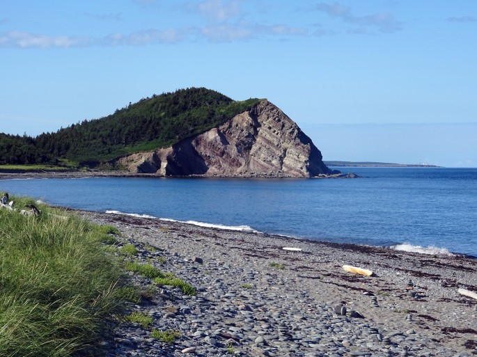 Point de vue le Bloc , Cabot trail Cap Breton Nouvelle écosse itinéraire road trip est canadien