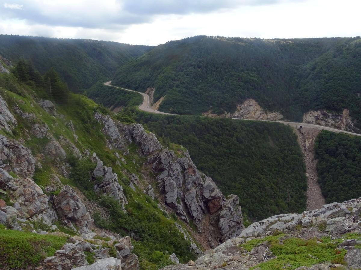 Skyline Trail Parc national du Cap Breton Nouvelle écosse itinéraire road trip est canadien randonnée Cabot trail