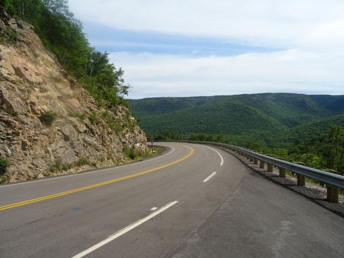 Cabot Trail Parc national Cap Breton Nouvelle écosse itinéraire road trip est canadien