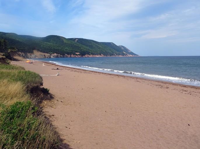 Sugar loaf Cabot landing provincial park Cap Breton Nouvelle écosse plage itinéraire road trip est canadie