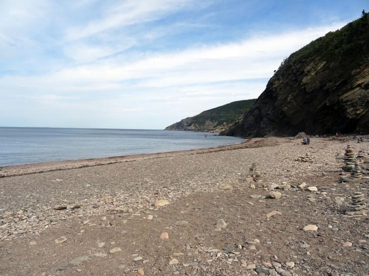 Meat Cove Cap Breton Nouvelle écosse plage itinéraire road trip est canadien