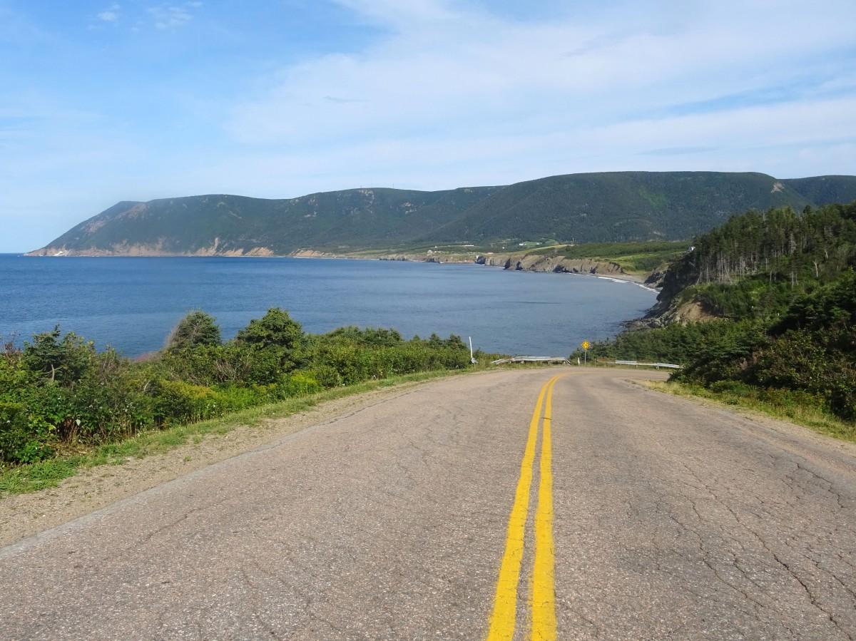 Route au Cap Breton Nouvelle écosse itinéraire road trip est canadien
