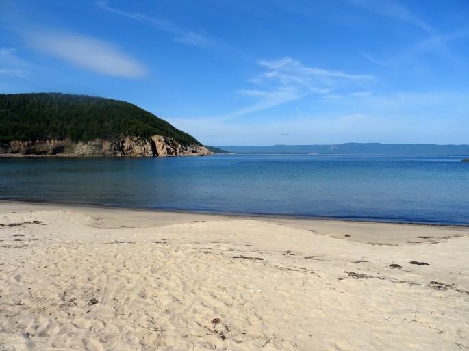 White point plage Cap Breton Nouvelle écosse itinéraire road trip est canadien