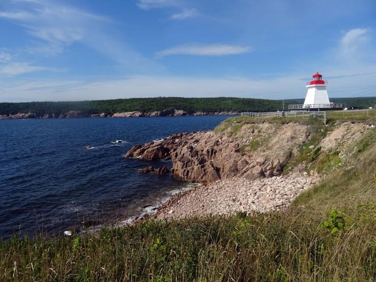 Neils Harbour phare  Cap Breton Nouvelle écosse itinéraire road trip est canadien