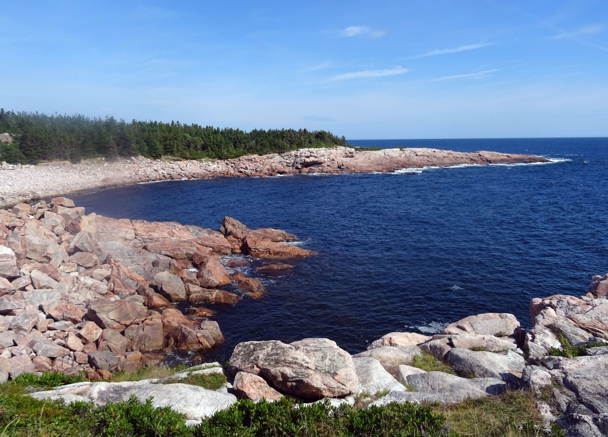 Point de vue Green Cove Parc national du Cap Breton Nouvelle Ecosse Cabot trail itinéraire road trip est canadien