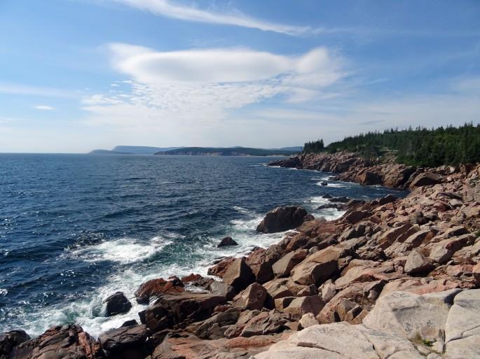 Point de vue Lakies Head Parc national du Cap Breton Nouvelle Ecosse Cabot trail itinéraire road trip est canadien