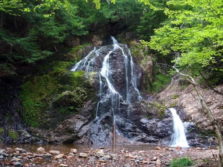 Cascade Wentworth falls Nouvelle écosse itinéraire road trip est canadien