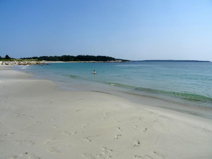 Plage Canada Nouvelle écosse Crystal crescent beach itinéraire road trip est canadien