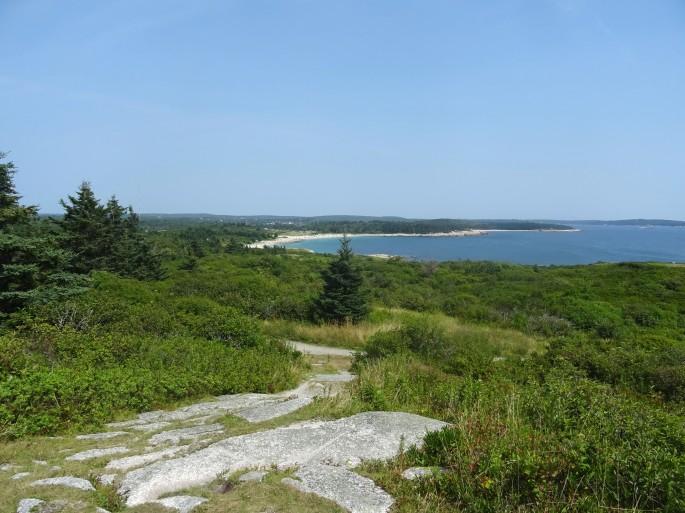 Canada Nouvelle écosse Crystal crescent beach itinéraire road trip est canadien