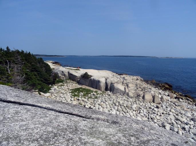 Crystal crescent beach itinéraire road trip est canadien