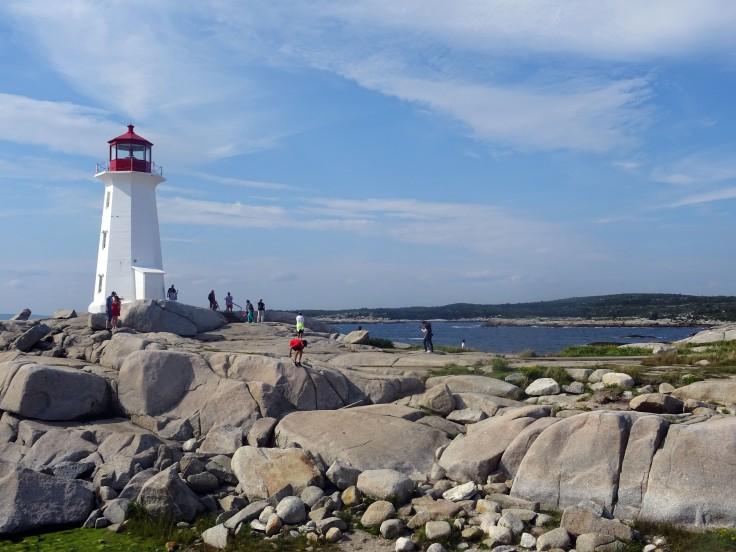 Phare Peggy's Cove Nouvelle Ecosse itinéraire road trip est canadien