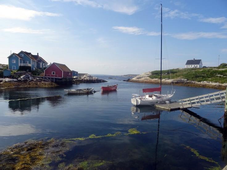 Village Peggy's Cove Nouvelle Ecosse itinéraire road trip est canadien