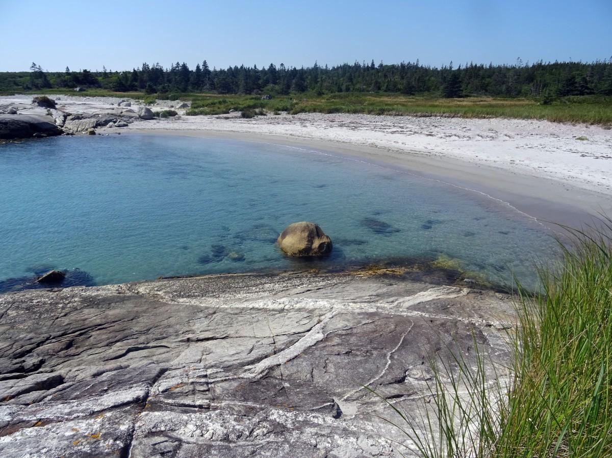 Belle plage Canada Nouvelle écosse Parc national de kejimkujik itinéraire road trip est canadien