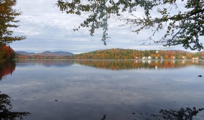 Randonnée facile d'automne à proximité de Québec city pour voir les couleurs : réserve naturelle des marais du nord