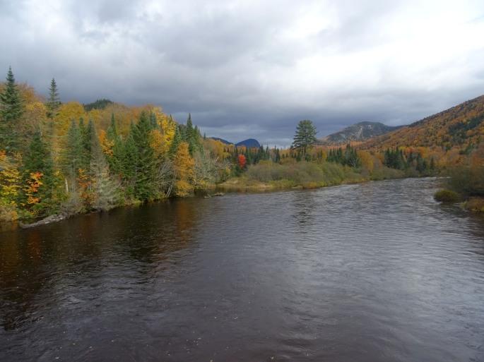 Randonnée automne à proximité de Québec city, Vallée bras du nord accès Shannahan