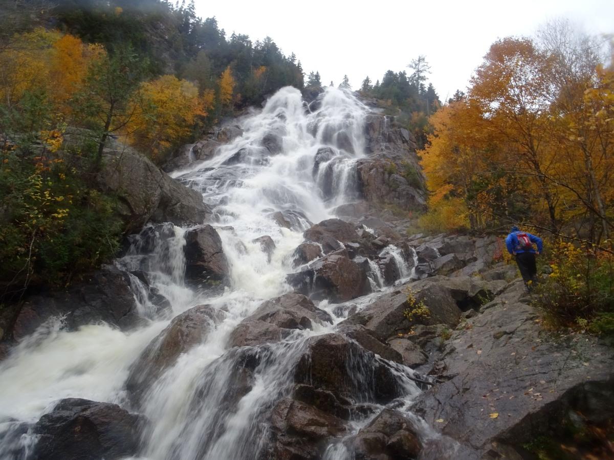 Chute Delaney, Cascade à proximité de Québec city, Vallée Bras du Nord Canada
