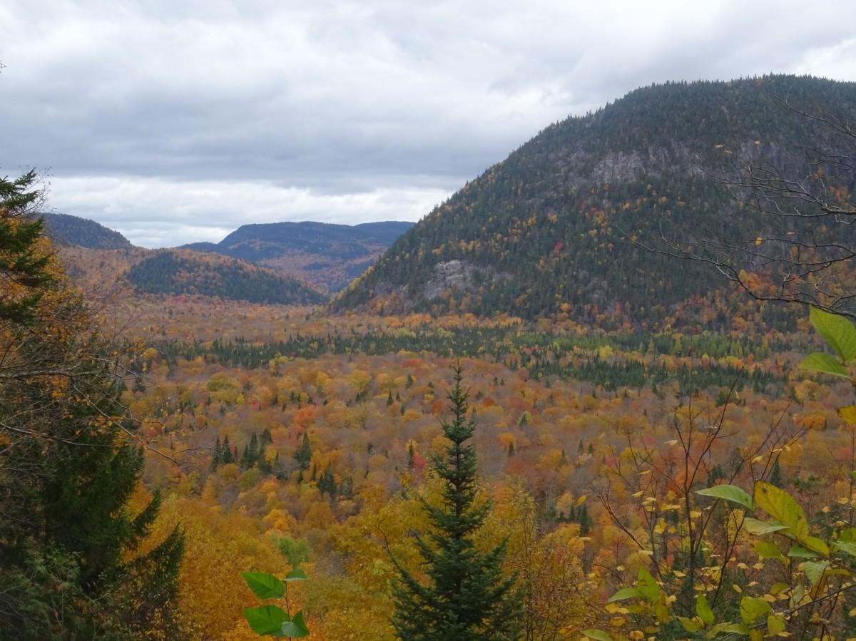 Photo automne Québec : Randonnée à la Vallée Bras du Nord, Canada