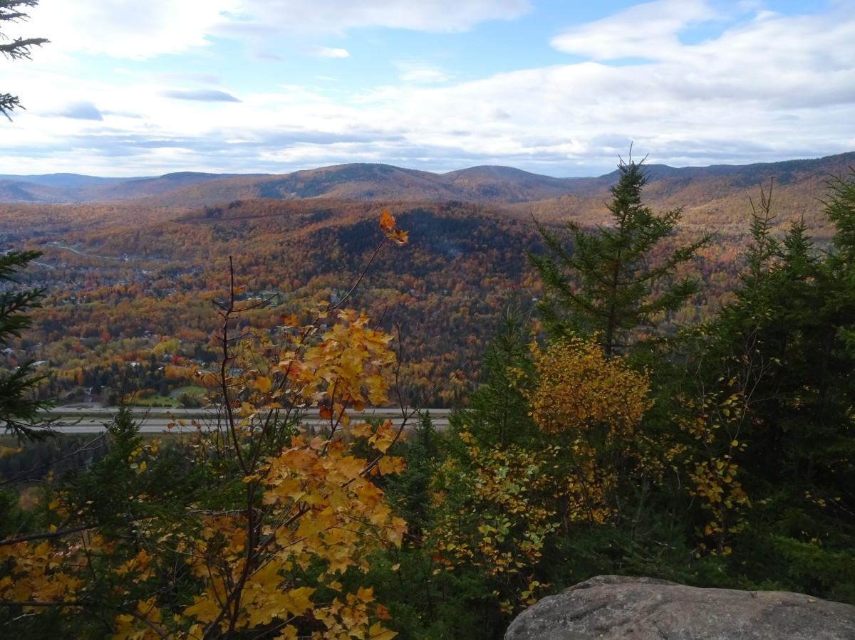 Randonnée d'automne à proximité de Québec city : Mont Wright, Canada