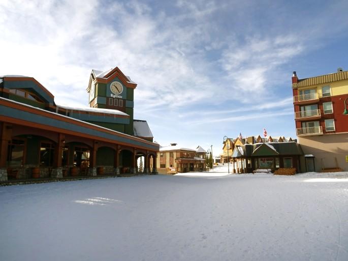Big White Ski Resort, Colombie Britannique, Canada