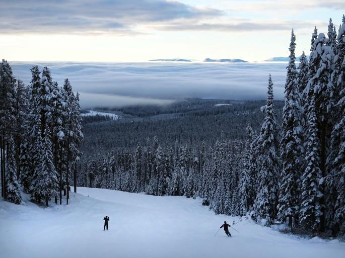 PVT Canada, Big White Ski Resort, Colombie Britannique, Canada