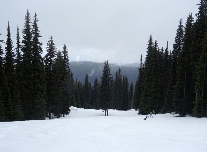 Ski au Silverstar Mountain, Vernon, Colombie Britannique, Canada