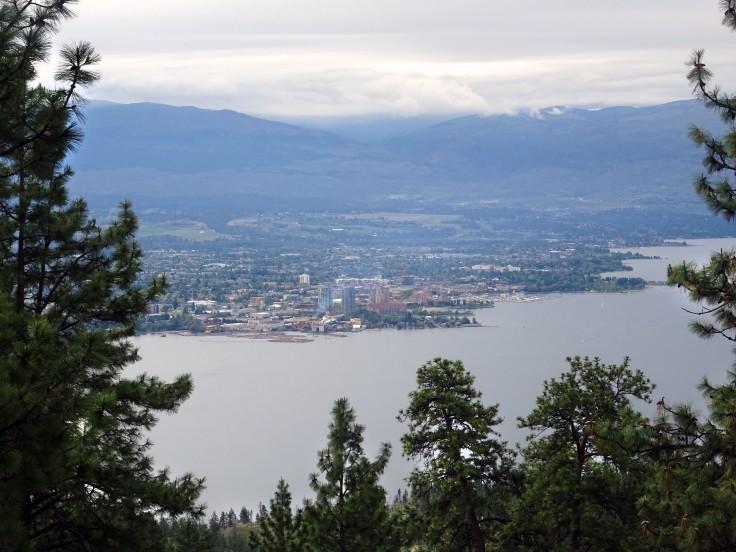 Que faire à Kelowna ? Randonnée au Blue Grouse mountain, British Columbia