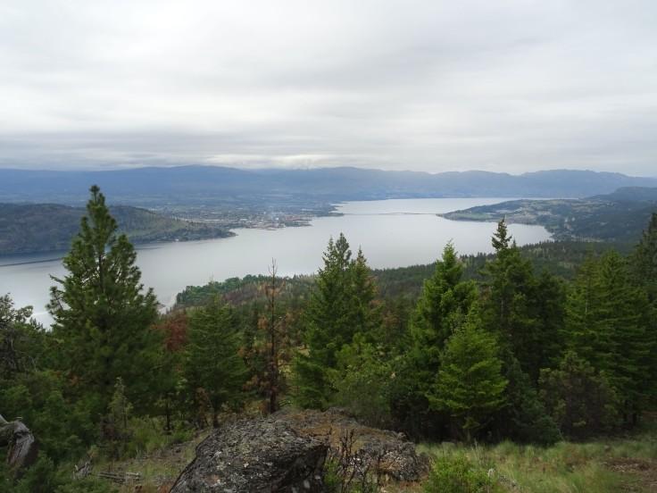 Randonnée à Kelowna, Blue grouse mountain, Vallée d'Okanagan