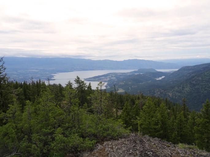 Randonnée Blue grouse mountain Kelowna, Okanagan valley, Colombie britannique Canada