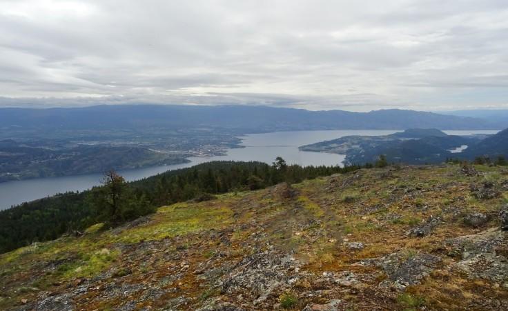 Randonnée Kelowna Canada