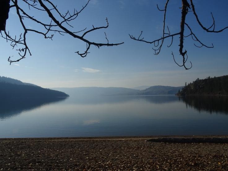 Lac Kalamalka Vernon, British Columbia, Canada