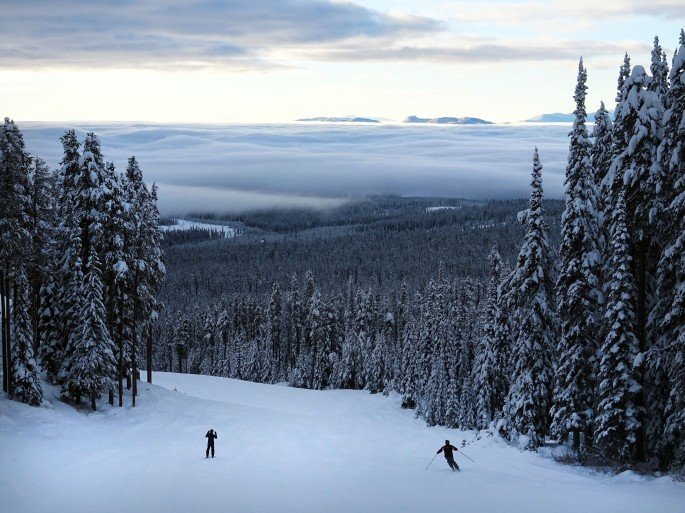 Big White Ski Resort, Kelowna, British columbia Canada