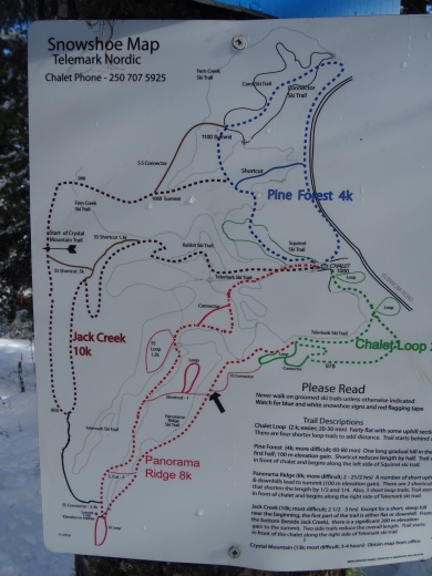 Hiking trails Telemark kelowna british columbia canada