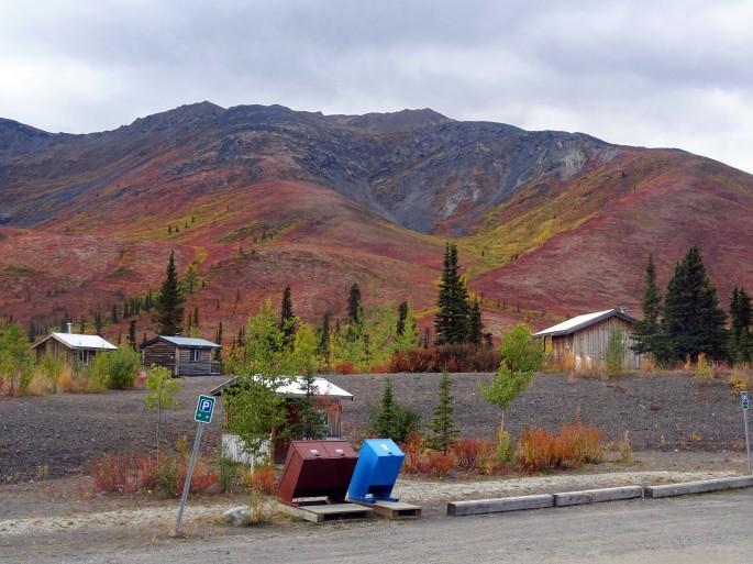 Automne au parc territorial de Tombstone, Yukon, Dempster highway