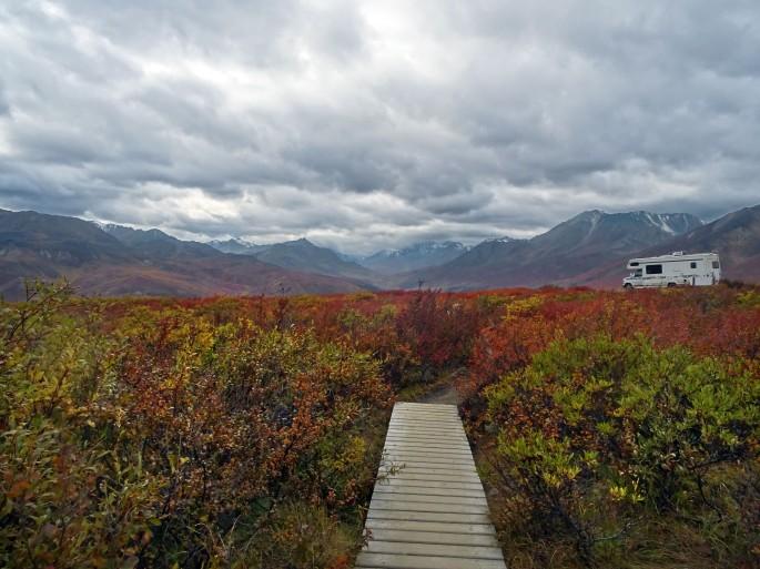 Randonnée Goldensides, Tombstone territorial park, Yukon, Canada