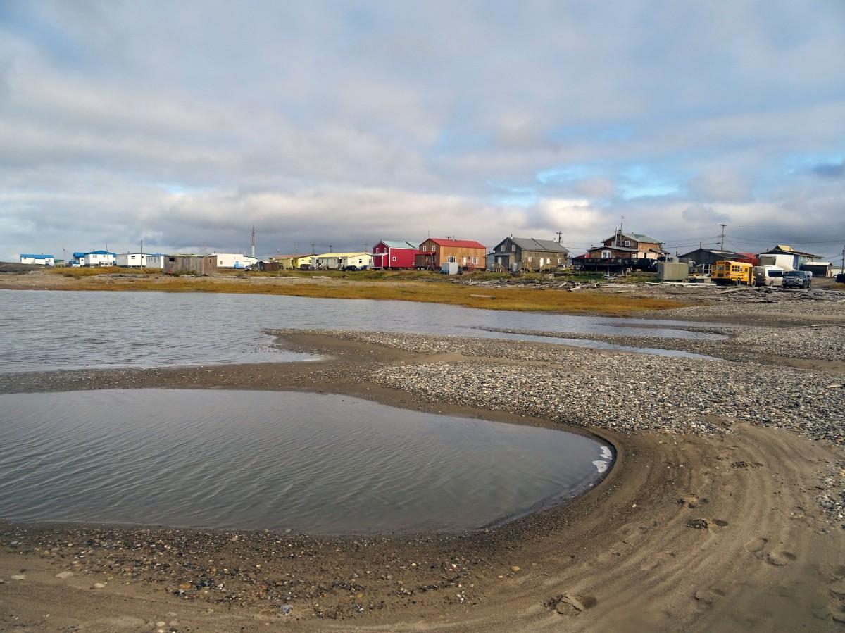 Tuktoyaktuk, Océan Arctique, Canada