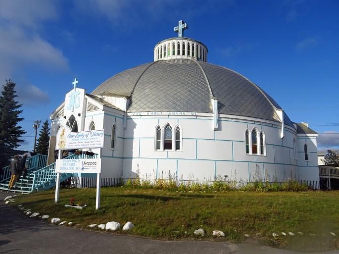 église d'Inuvik, Canada