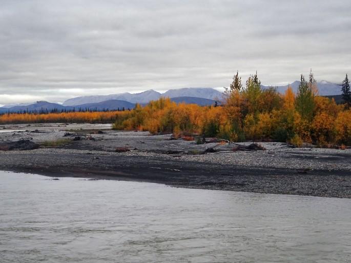 Road trip sur la Dempster Highway, Yukon, Canada