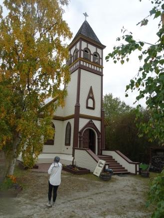 Dawson city église Yukon