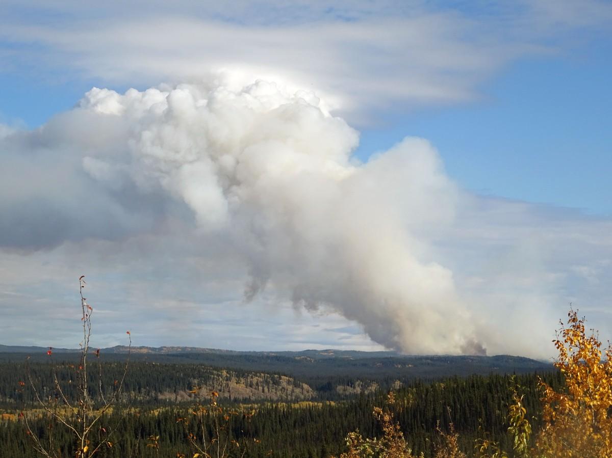 Feux de forêt au Yukon, Canada
