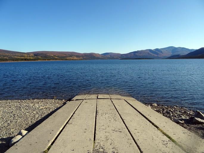 Whitehorse : Randonnée à Fish lake, Yukon, Canada
