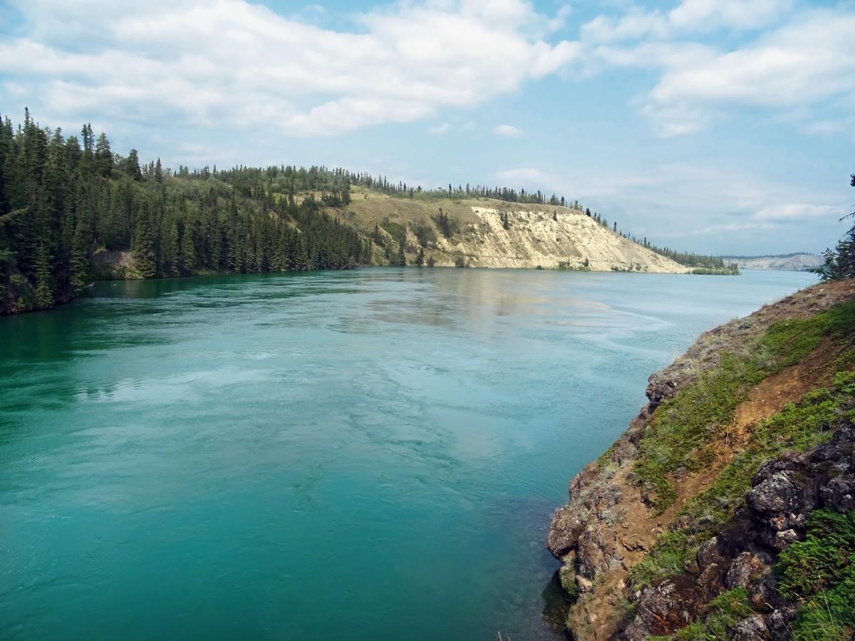 Randonnée à Miles Canyon, Whitehorse, Yukon, Canada