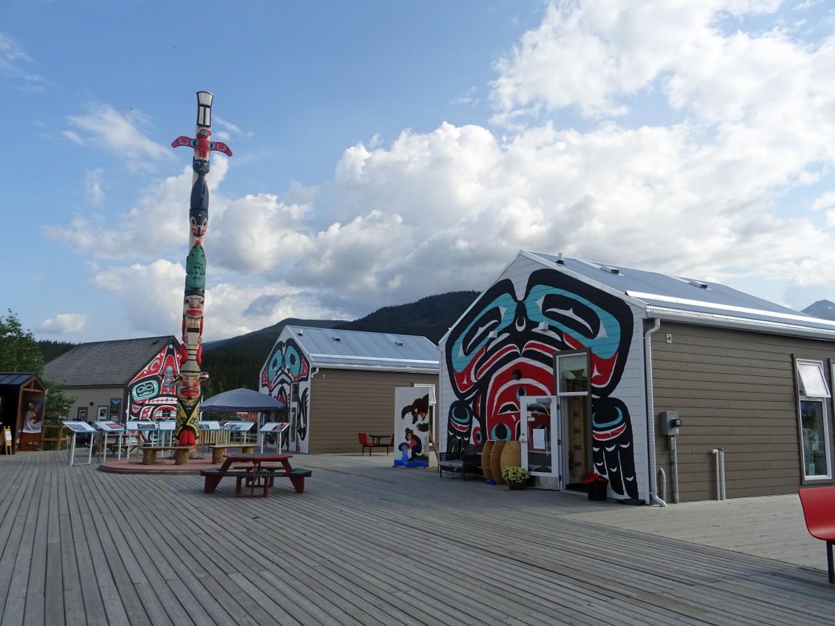 Village de Carcross, Yukon, Canada
