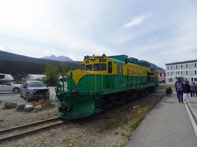 White Pass Train, Carcross, Yukon, Canada