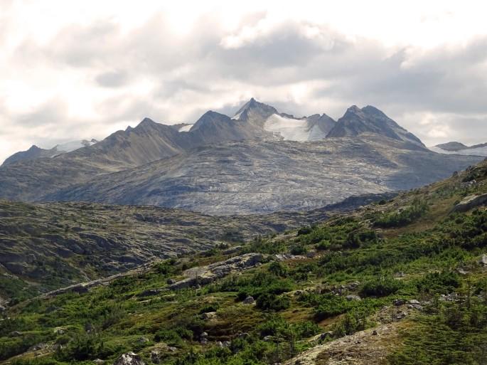 Randonnée International falls, entre le Canada et l'Alaska