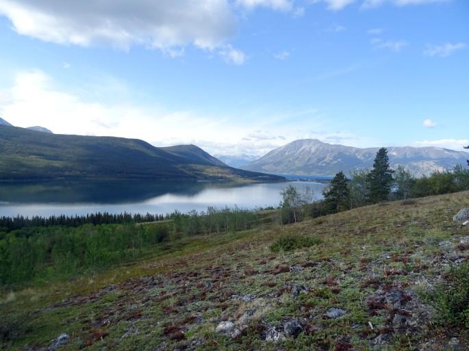Randonnée Naires Mountain Yukon Canada