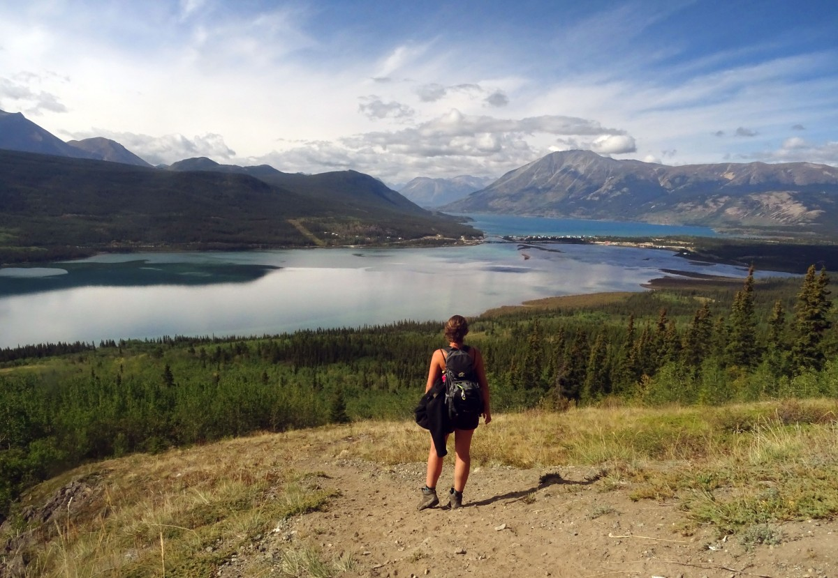 Randonnée Naires Mountain à Carcross, Yukon Territory, Canada